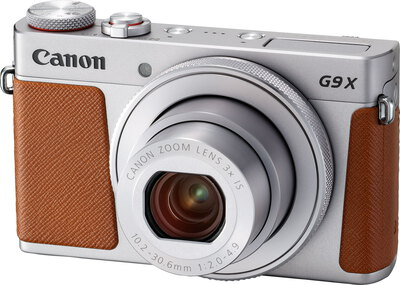 PowerShot G9 X Mark II 20,1 MP Full HD Brun