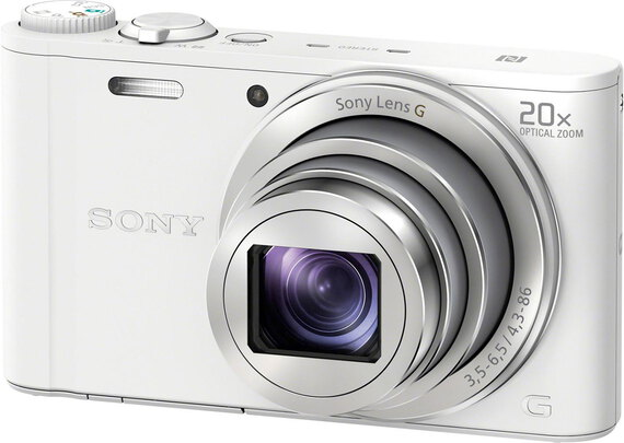 Sony Cyber-Shot WX350 Wit