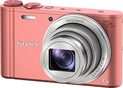 Cyber-Shot WX350 18,2 MP Full HD Rose