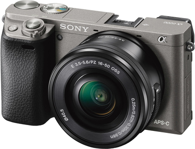 α6000 24,3 MP Full HD Gris + objectif zoom 16-50 mm OSS