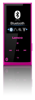 Lenco Xemio-760 BT 8GB Lecteur MP3 - Rose