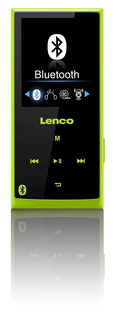 Lenco Xemio 760 BT - 8GB - Groen