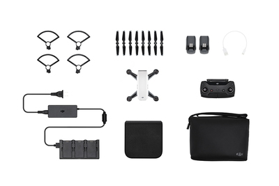 DJI Spark Fly More Combo 4propellers Wit camera-drone