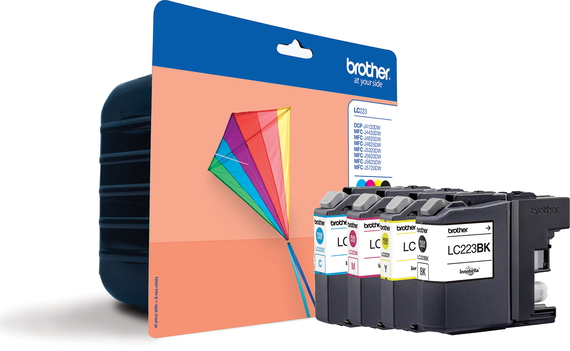 Brother LC-223 4-kleuren Value Pack