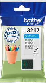 Brother Inktpatroon LC-3217C - Cyaan