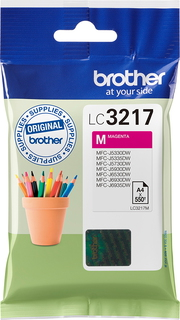 Brother Cartouche d'encre LC-3217M - Magenta