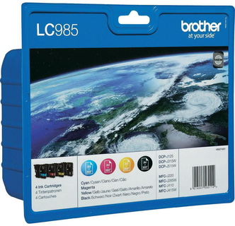 Brother LC-985 4-kleuren Value Pack