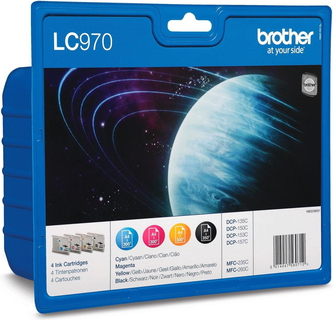 Brother LC-970 4-kleuren Value Pack