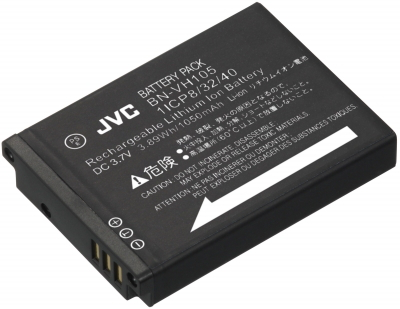 JVC BN-VH105 Lithium-Ion 1050mAh 3.7V batterie rechargeable