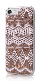 Backcover Tribal voor iPhone 7 - Taupe