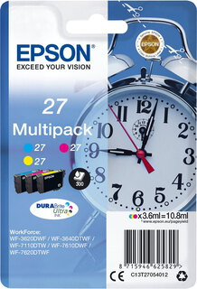 Epson T27 3-couleurs DuraBrite Ultra Ink Multipack