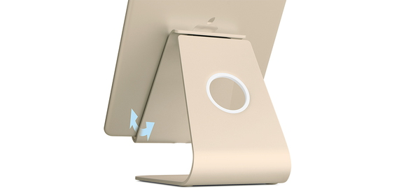 Rain Design Rain Design mStand Tablet+ for iPad Gold