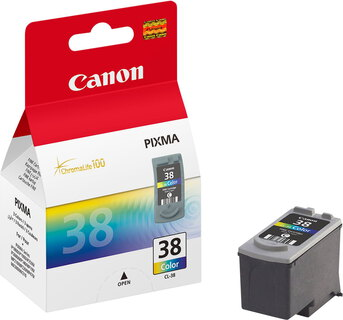 Canon CL-38 3-couleurs ChromaLife 100 Pack