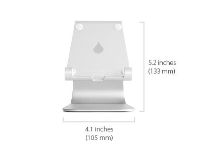 Rain Design Rain Design mStand Tablet for iPad Silver