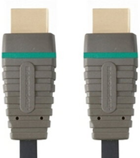Bandridge Bandridge HDMI + HDMI kabel - 1m - BVL1201