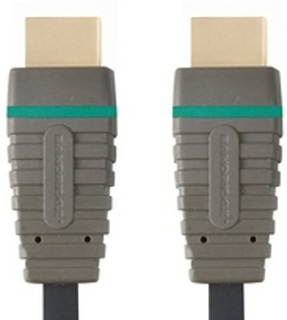 Bandridge Bandridge HDMI + HDMI câble - 2m - BVL1202