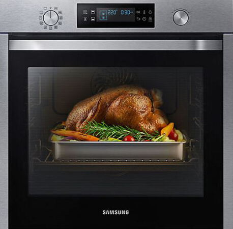 Samsung Four encastrable NV75K5571BS/EF Dual Cook