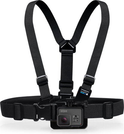 GoPro Borstharnas Chesty Jr. - Zwart
