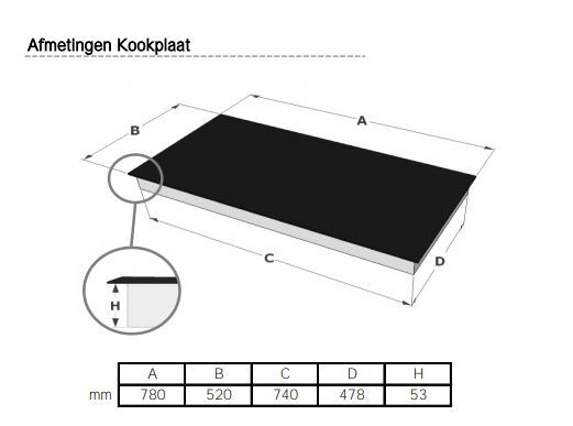 Novy Taque induction 1754