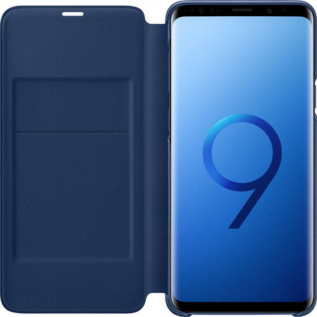 Samsung LED View Cover pour Galaxy S9+ - Bleu