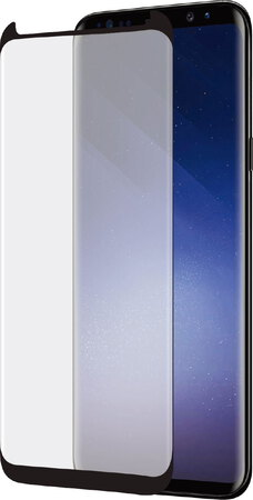 Azuri Curved Tempered Glass RINOX ARMOR pour Galaxy S9 - Noir