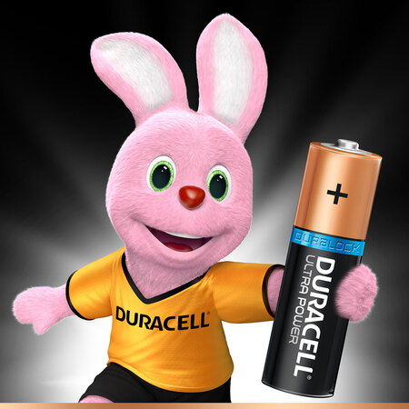 Duracell Ultra Power Piles Alcalinestype AA, Lot de 8 piles