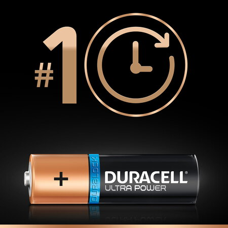Duracell Ultra Power Piles Alcalinestype AA, Lot de 6 piles