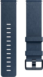 Fitbit Versa Leather Band Midnight Blue (L)