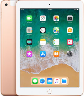 "Apple iPad (2018) 9,7"" 128 Go Wi-Fi + LTE Or"