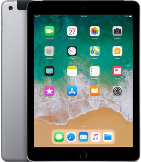 "Apple iPad (2018) 9,7"" 128 GB Wi-Fi + LTE Spacegrijs"