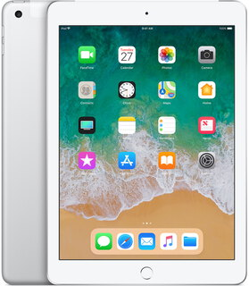 "Apple iPad (2018) 9,7"" 32 GB Wi-Fi + LTE Zilver"