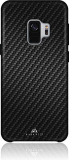 Black Rock Backcover Flex Carbon pour Galaxy S9 - Noir