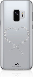 White Diamonds Backcover Eternity voor Galaxy S9 - Crystal