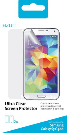 Azuri Film de protection Ultra Clear pour Galaxy S5