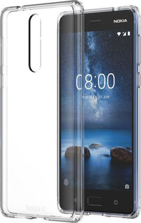 Backcover Hybrid Crystal voor Nokia 8