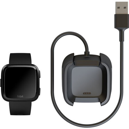 Fitbit Versa Charging Cable Black