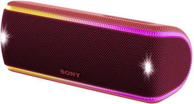 Sony SRS-XB31 Speaker Bluetooth - Rouge