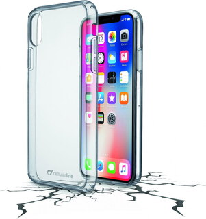 Cellular Line Backcover Clear Duo voor iPhone X
