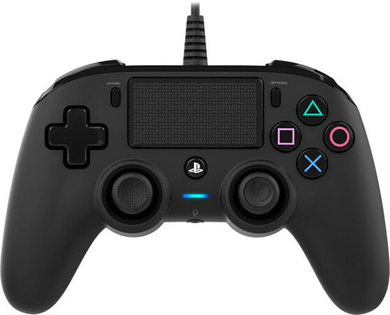 BigBen PS4 Wired Compact Gamepad Zwart