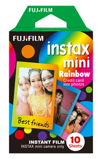 instax Mini Rainbow - 10 vellen