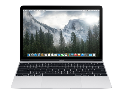 "MacBook 12"" Retina 512 GB Zilver"
