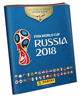 Panini Album FIFA World Cup Russia 2018 - Sticker Album
