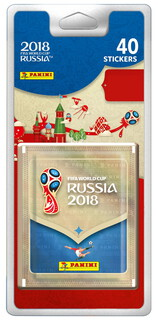 Panini Album FIFA World Cup Russia 2018 - 40 Stickers