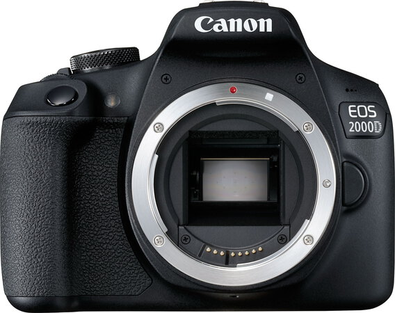 Canon EOS 2000D - objectif EF-S 18-55 mm IS