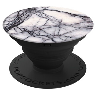 Popsocket Support/Poignée White Marble