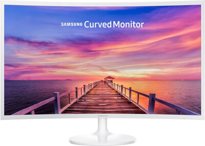 Samsung LC32F391FWU Curved Glossy White