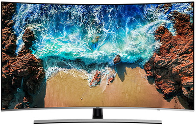 "Samsung TV UE55NU8500 (2018) - 55"" PREMIUM UHD Curved Smart 4K UHD TV"