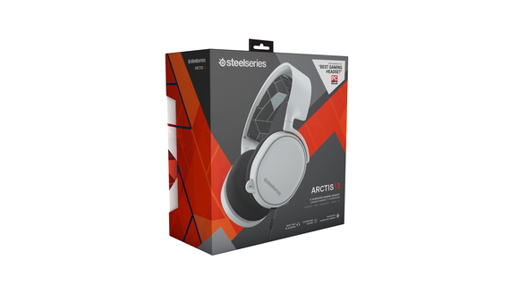 Steelseries Casque Arctis 3 - Blanc