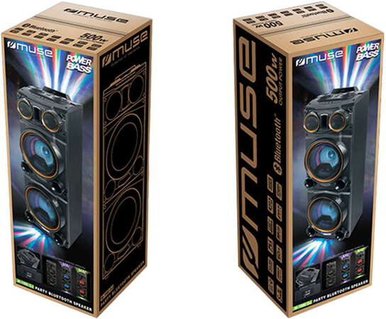 Muse MB-1987 DJ Enceinte Party