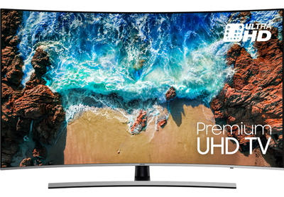 "Samsung TV UE65NU8500 (2018) - 65"" PREMIUM UHD Curved Smart 4K UHD TV"